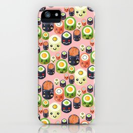 Cute Sushi iPhone Case
