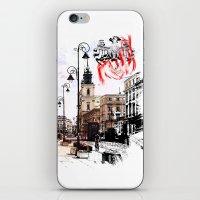 poland iPhone & iPod Skins featuring Poland - Krawkowskie Przedmiescie, Warsaw by viva la revolucion