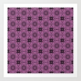 Bodacious Star Geometric Art Print