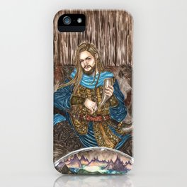 The Guardian of Bifrost iPhone Case