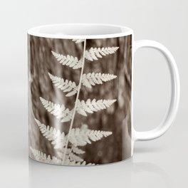 Single Copper Fern Coffee Mug