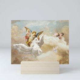 Angels Mini Art Print