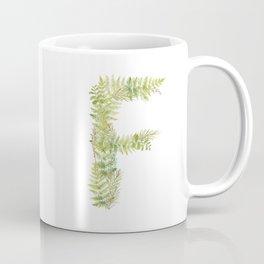 Initial F Coffee Mug