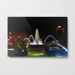 JC Nichols Memorial Fountain Metal Print