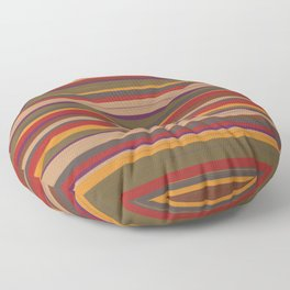 Fourth Doctor Scarf Floor Pillow