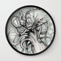 ships Wall Clocks featuring The Baltic Sea by David Fleck