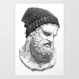 Heracles Art Print