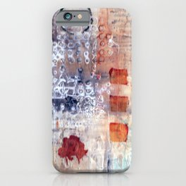 abstract collective: lazy dayz iPhone Case