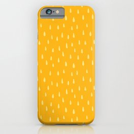 Honey Drop Pattern iPhone Case