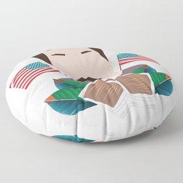 Ron Swanson Floor Pillow
