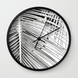Palm Down Wall Clock