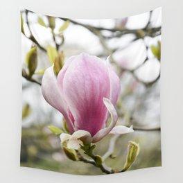 Singular Magnolia Wall Tapestry