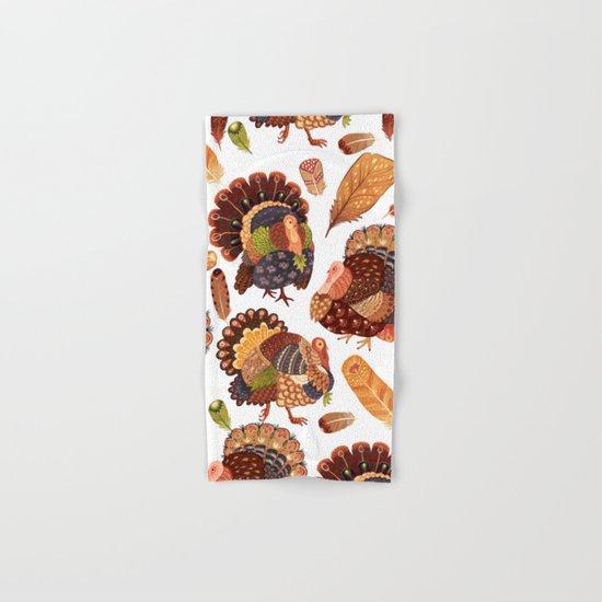 Turkey Gobblers Hand & Bath Towel