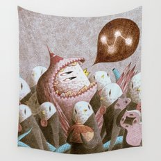 The Message Wall Tapestry