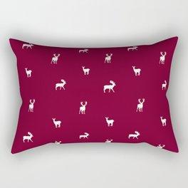 RED DEER PATTERN Rectangular Pillow
