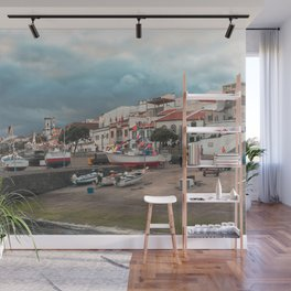 Portuguese harbour Wall Mural