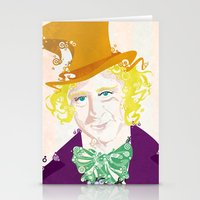 willy wonka Stationery Cards featuring Wilder Wonka by Joshua A. Biron