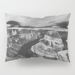Southwest Starry Night Black and White Pillow Sham
