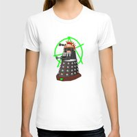 dalek T-shirts featuring Punk Dalek by Andrew Mark Hunter