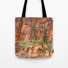The Narrows, Zion Tote Bag