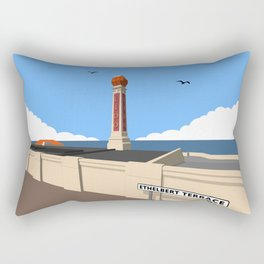 Cliftonville Lido, Margate Rectangular Pillow