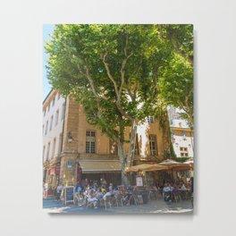 Summer in Aix-en-Provence I Metal Print
