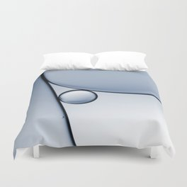 oil and water abstract I Duvet Cover