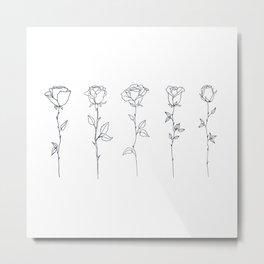 Roses - We are unique Metal Print
