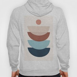 Minimal Abstract Shapes 25 Hoody