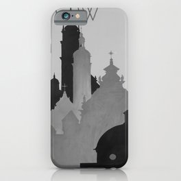 Affiche classic Lwow poster iPhone Case