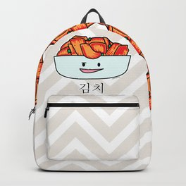 Happy Kimchi Kimchee Bowl Cabbage pickled spicy Korean Backpack