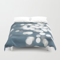 sparkles Duvet Covers featuring Sparkles by Lady Tanya bleudragon