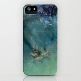 Diplomacy Drowning iPhone Case