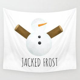 Jacked Frost Wall Tapestry