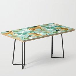 Cheetah Jungle #illustration #pattern Coffee Table