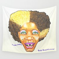 cookie Wall Tapestries featuring Crazy Cookie by Bwilly Bwightt