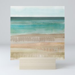Jade seascape Mini Art Print