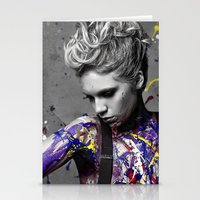 splatter Stationery Cards featuring Splatter by brendan | carlson photography