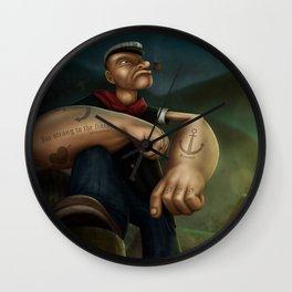 Popeye Wall Clock