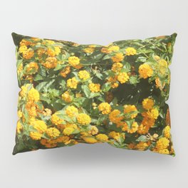 Blooming Lantana Plant Pillow Sham