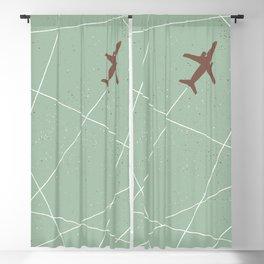 The Jet Set - Sage Green Blackout Curtain