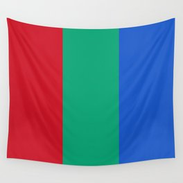 Flag of planet Mars Wall Tapestry