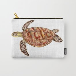 Green turtle Chelonia mydas Carry-All Pouch