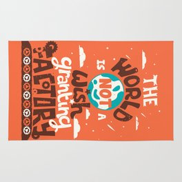The World is Not a Wish Granting Factory Rug