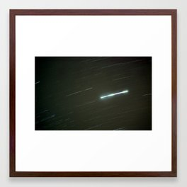 Star Stretch Framed Art Print