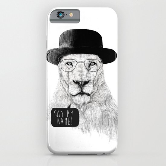 Say my name iPhone & iPod Case
