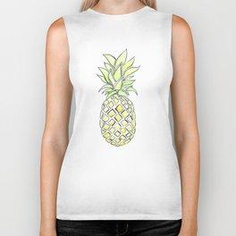 Pineapple Pop Biker Tank