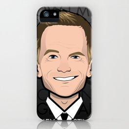 Barney Stinson - How I Met Your Mother iPhone Case