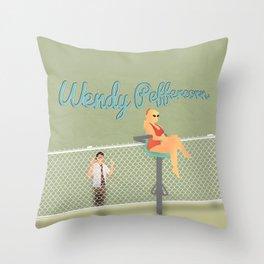 Wendy Peffercorn Throw Pillow