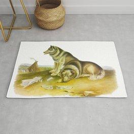 Esquimaux Dog Rug